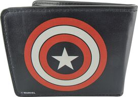 Captain America Simple Shield Wallet