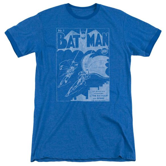 Batman Issue 1 Cover Adult Heather Ringer Royal Blue