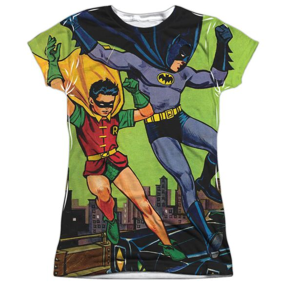 Batman Getaway Short Sleeve Junior Poly Crew T-Shirt