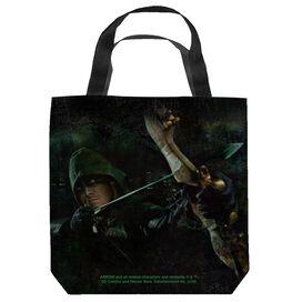 Arrow Hero Tote Bag