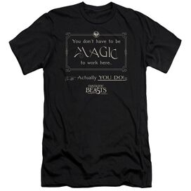 Fantastic Beasts Magic To Work Here Hbo Short Sleeve Adult T-Shirt