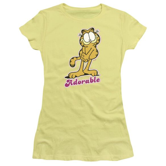 Garfield Adorable Short Sleeve Junior Sheer T-Shirt