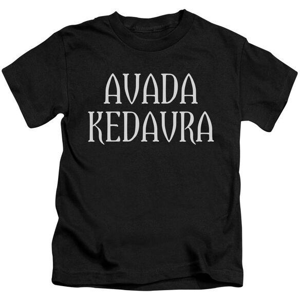 Harry Potter Avada Kedavra Short Sleeve Juvenile T-Shirt