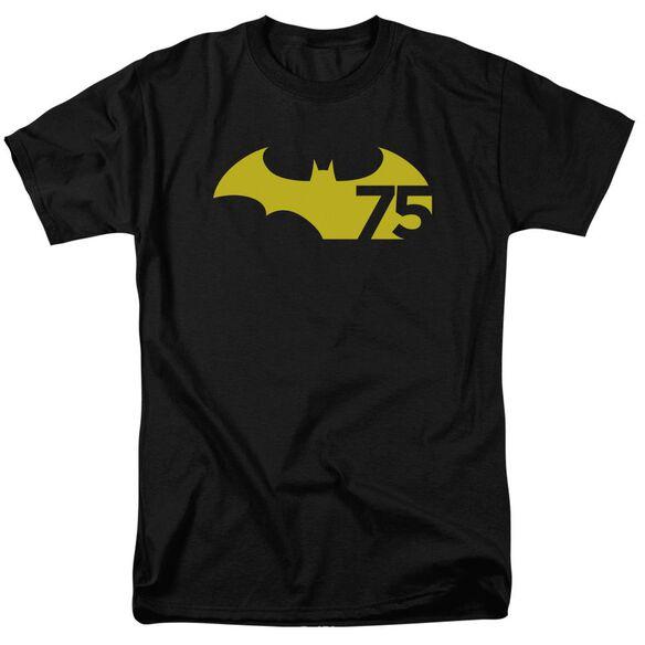 Batman 75 Logo 2 Short Sleeve Adult T-Shirt
