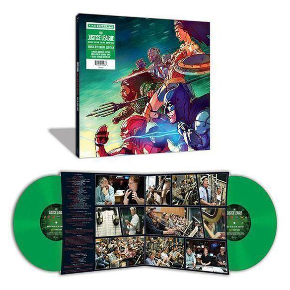 Danny Elfman - Justice League Soundtrack [Exclusive Opaque Green Vinyl]