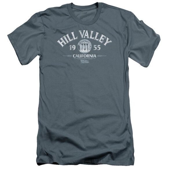 Back To The Future Hill Valley 1955 Premuim Canvas Adult Slim Fit