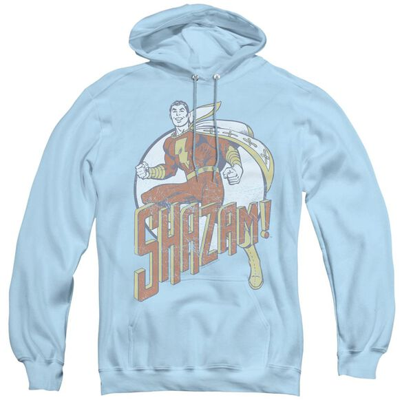 Dc Stepping Out - Adult Pull-over Hoodie - Light Blue