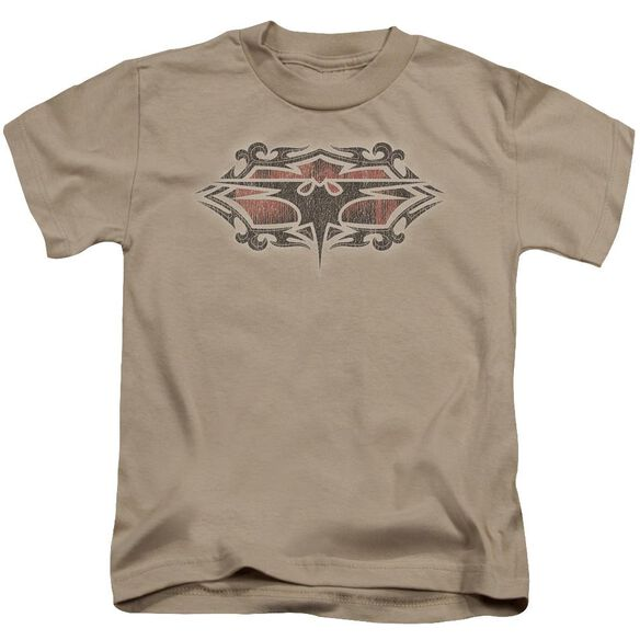 Batman Distressed Gothic Bat Short Sleeve Juvenile T-Shirt