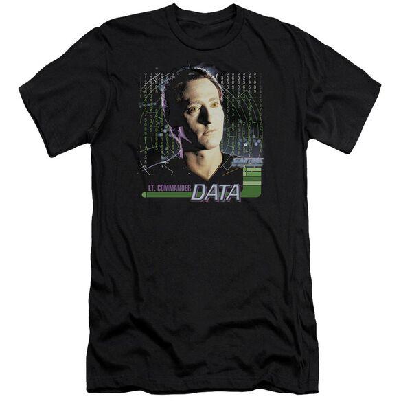 Star Trek Data Short Sleeve Adult T-Shirt