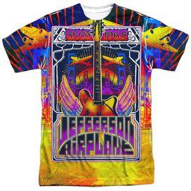 Jefferson Airplane San Francisco Short Sleeve Adult Poly Crew T-Shirt