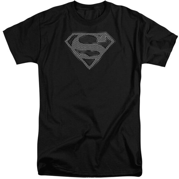 Superman Chainmail Short Sleeve Adult Tall T-Shirt