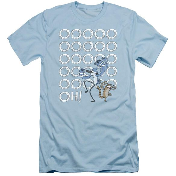 The Regular Show Oooooh Short Sleeve Adult Light T-Shirt