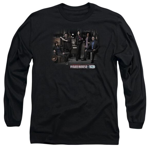 Warehouse 13 Warehouse Cast Long Sleeve Adult T-Shirt
