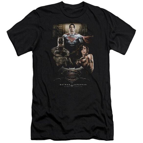 Batman V Superman Thre Three Short Sleeve Adult T-Shirt