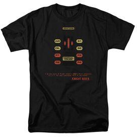 Knight Rider Kitt Consol Short Sleeve Adult T-Shirt