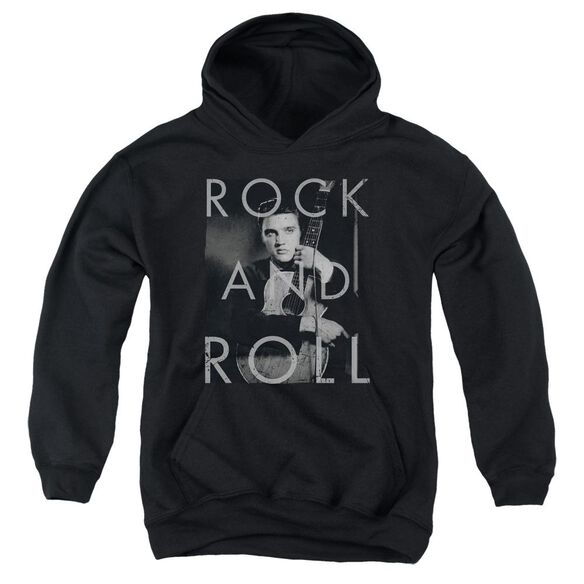 Elvis Presley Rock And Roll Youth Pull Over Hoodie