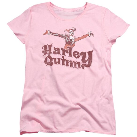 Dc Harley Hop Vintage Short Sleeve Womens Tee T-Shirt