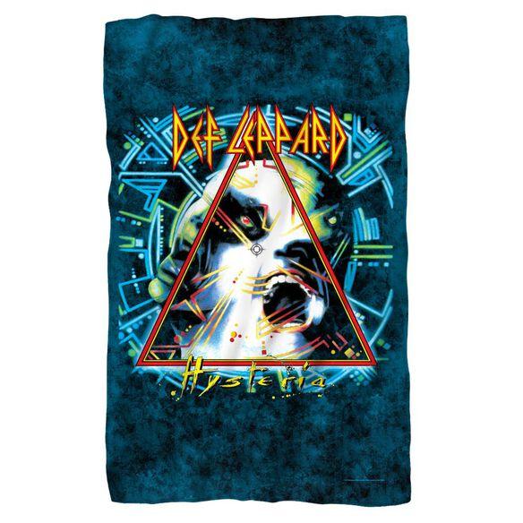 Def Leppard Hysteria Cover Fleece Blanket