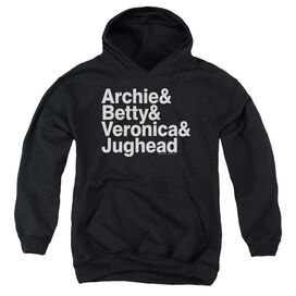 Archie Comics Ampersand List Youth Pull Over Hoodie