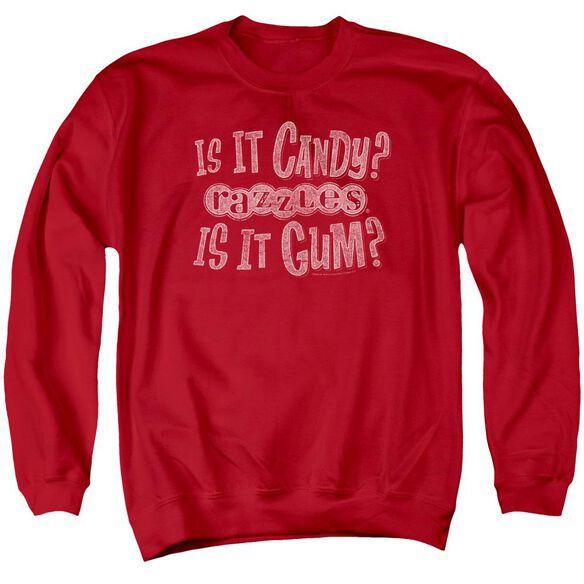 Razzles What Is This Adult Crewneck Sweatshirt
