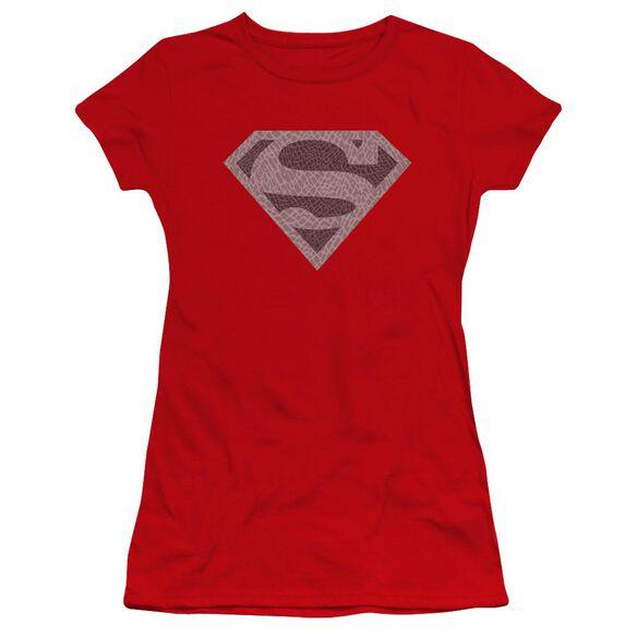 Superman Elephant Shield Premium Bella Junior Sheer Jersey