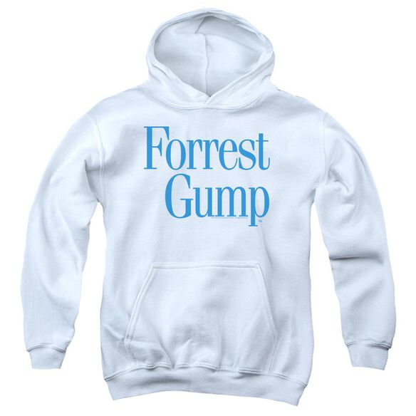 Forrest Gump Logo Youth Pull Over Hoodie