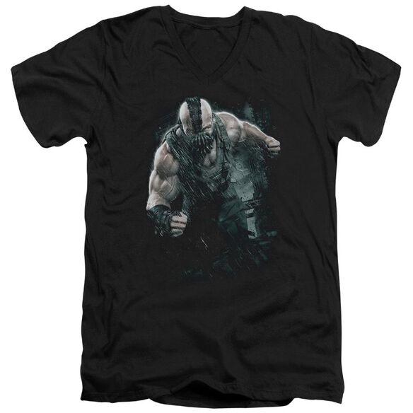 Dark Knight Rises Bane Rain Short Sleeve Adult V Neck T-Shirt