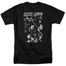 Justice League Movie Pushing Forward Short Sleeve Adult T-Shirt