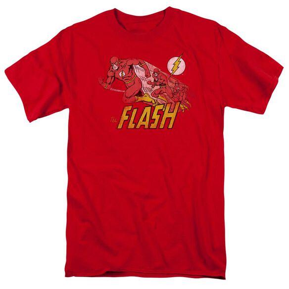 Dc Crimson Comet Short Sleeve Adult T-Shirt