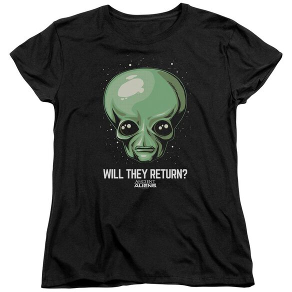 Ancient Aliens Will They Return Short Sleeve Womens Tee T-Shirt