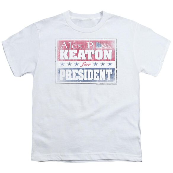 FAMILY TIES ALEX FOR PRESIDENT - S/S YOUTH 18/1 - WHITE T-Shirt