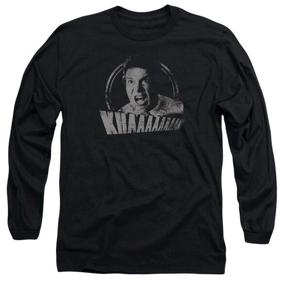 Star Trek Khan Distressed Long Sleeve Adult T-Shirt