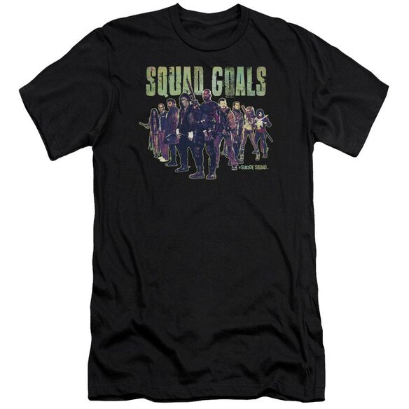 Suicide Squad Squad Goals Hbo Short Sleeve Adult T-Shirt
