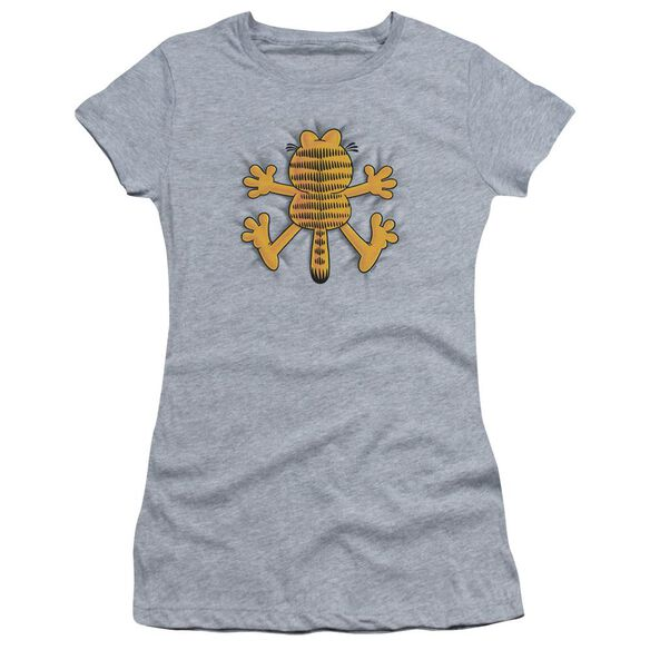 Garfield Ow Short Sleeve Junior Sheer Athletic T-Shirt