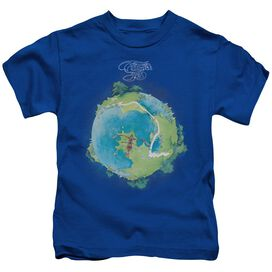 Yes Fragile Cover Short Sleeve Juvenile Royal T-Shirt