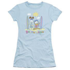 GARFIELD BEACH BUMS - S/S JUNIOR SHEER - T-Shirt