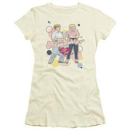 I Love Lucy Its Friendship Short Sleeve Junior Sheer T-Shirt