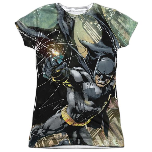 Batman Catch Short Sleeve Junior Poly Crew T-Shirt