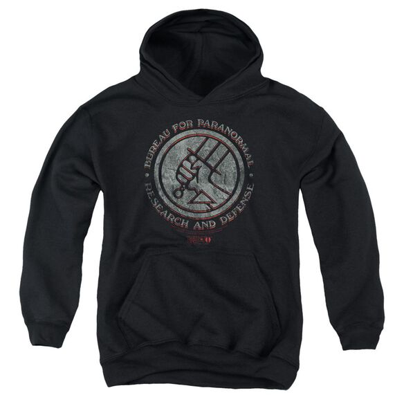 Hellboy Ii Bprd Stone Youth Pull Over Hoodie