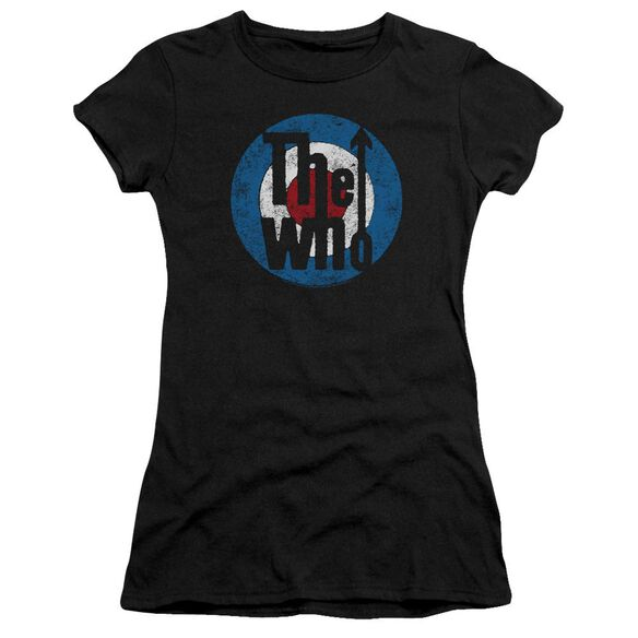 The Who Distressed Target Hbo Short Sleeve Junior Sheer T-Shirt
