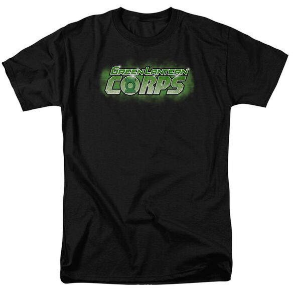 Green Lantern Gl Corps Title Short Sleeve Adult T-Shirt