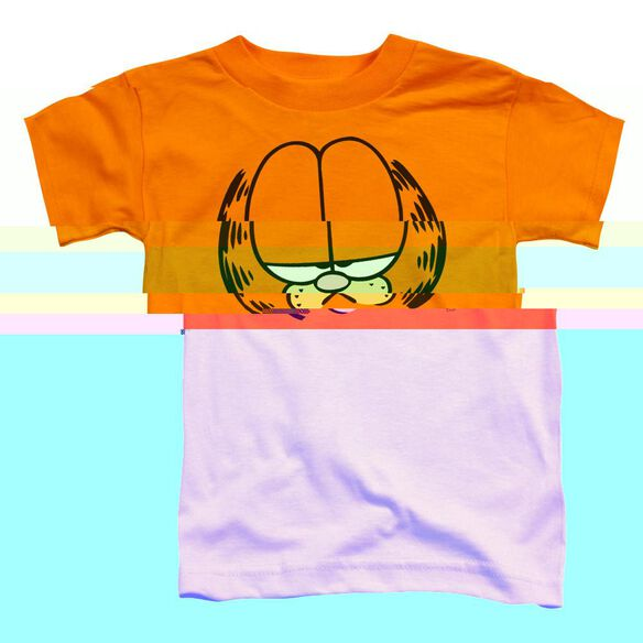 GARFIELD BIG HEAD - S/S TODDLER TEE - ORANGE - T-Shirt