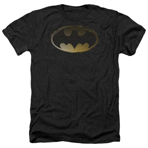 Batman Halftone Bat Adult Heather