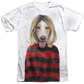 Pets Rock Grunge Short Sleeve Adult Poly Crew T-Shirt