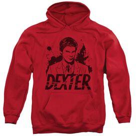 Dexter Splatter Dex Adult Pull Over Hoodie