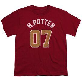 Harry Potter Potter Jersey Short Sleeve Youth T-Shirt