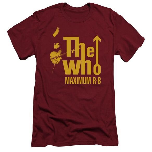 The Who Maximum R&B Short Sleeve Adult T-Shirt