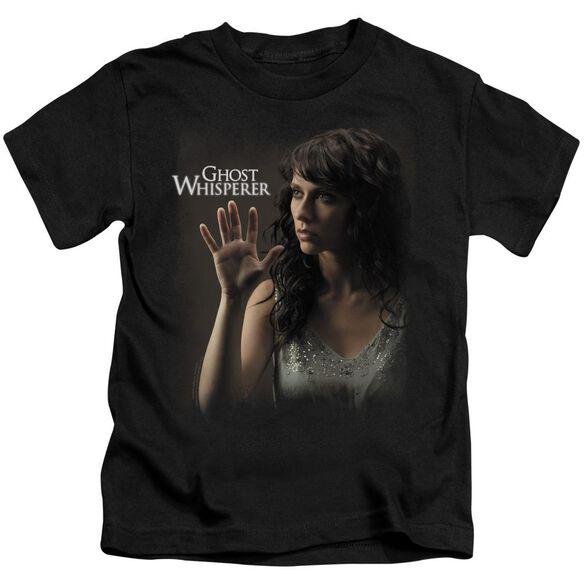 Ghost Whisperer Ethereal Short Sleeve Juvenile Black T-Shirt