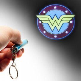 Wonder Woman Logo Flashlight Keychain