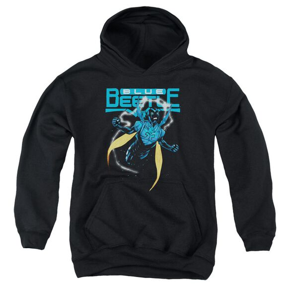 Jla Blue Beetle Youth Pull Over Hoodie